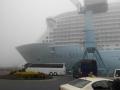 Quantum of the Seas im Nebel 1
