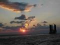 Wolken und Sonne